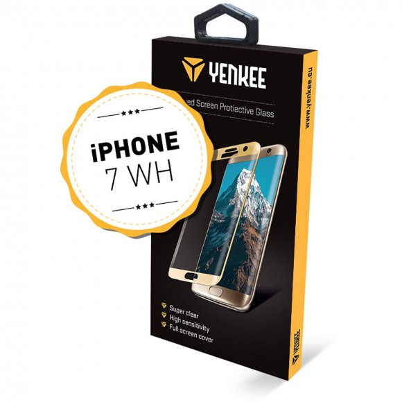 YPG 3D06 3D ochr. sklo iPhone 7WH YENKEE