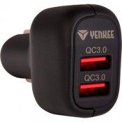 YAC 2036 USB Autonabíječka QC 3.0 YENKEE