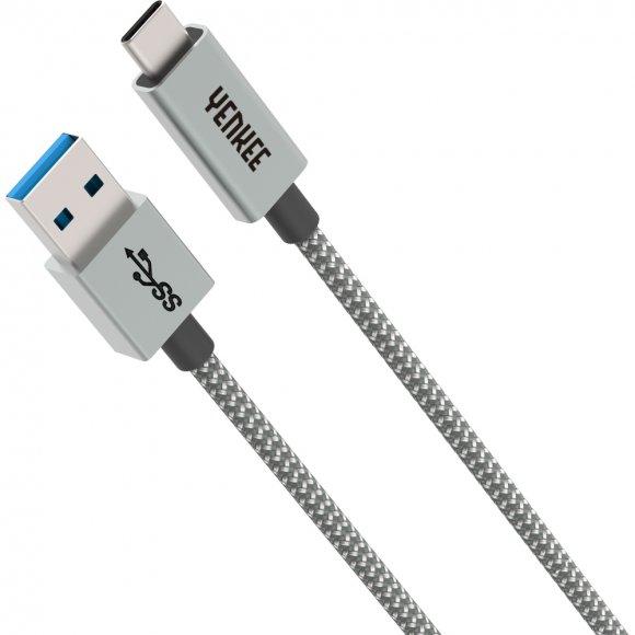 YCU 311 GY kabel USB A 3.1 / C 1m YENKEE