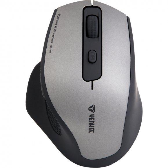 YMS 2070GY BLUE LED Myš WL Lusaka YENKEE